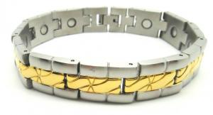 China Fashion Man's Magnetic Health Bracelets / magnetic bangle bracelets on sale