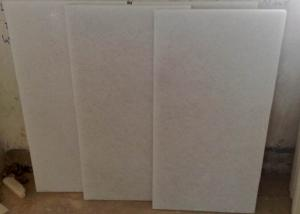 China Floor Natural Marble Tile Crystal White Color Hard Marble Material on sale