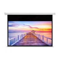 "China 70"" Motorized Cinema Projection Screens / projector screen ceiling mount on sale"