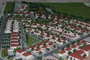 China Sweden Villa Planning Building Model For Exhibtion ,custom scale model maker on sale