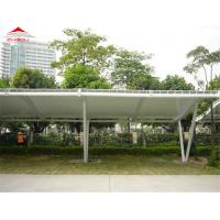Light Weight Tensile Membrane Structures For Bicycle Parking Shed