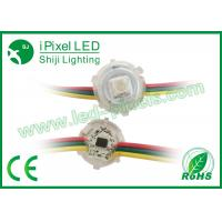 Waterproof Round Commercial LED String For Outside Light 12MM  0.3W Single Lamp