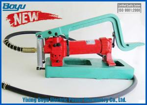 China 720cc High Pressure Hydraulic Pedal Pump 11kg Transmission Line Stringing Tools on sale