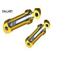 Weld on Hydraulic Cylinder Piston Design Double Acting Industrial Equipment