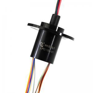 China 18 circuits capsulent la bague collectrice électrique avec 2 ampères par circuit pour la robotique on sale