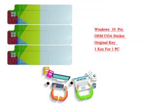 Quality Win 10 Pro label sticker/ FPP/ OEM FQC-08929 64 Bits Made in Hong Kong Support 1 for sale