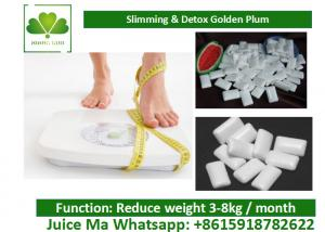 Quality Natural Slimming / Detox Chewing Gum Weight Loss Face Without Sugar for sale