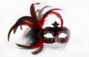 China Plastic Lace Masquerade Masks on sale