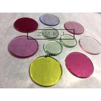 Custom Design Synthetic Ruby , Sapphire Glass 9.0 Hardness For Wrist Watch Lens