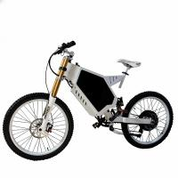 China 3000W 72V Electric Powered Bicycle , Battery Powered Bicycles / Bike Fortified Steel Frame on sale