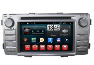 China Toyota Hilux GPS Navigation Android DVD Player 3G Wifi SWC BT RDS TV on sale