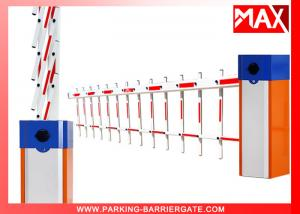 China Intelligent Automatic Boom Barrier Gate Rustproof for Car Park , Automatic Barrier Gate on sale