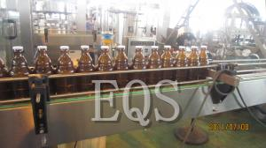 China Glass / SUS Beer Bottle Filling Equipment 1500BPH with Touch Screen / Inverters on sale