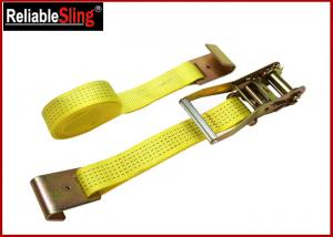 """Quality 1.5"""" Muticolor Zinc Alloy Cam Buckle Heavy Duty Ratchet Strap With S Hooks for sale"""