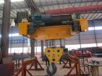Heavy Duty Mining Oil Wire Rope Hoists , Trolley Crab Unit
