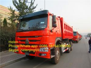 China 6x4 SINOTRUK Heavy Duty Dump Truck HOWO DUMP TRUCK   20T  EURO II/III on sale