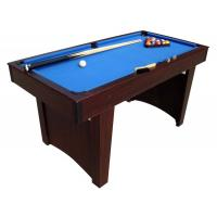 China Family Pool Game Table 5 FT Billiard Table Wood Solid MDF With PVC Laminated on sale