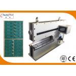 Máquina del separador del PWB del CE para el tablero del metal con dos cuchillas lineares
