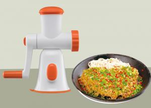 China Manual Meat Mincer Hygienic Material Non Electric Baby Food Chopper BPA Free on sale