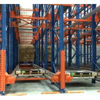 China Cold Room Steel Radio Shuttle Racking System Heavy Duty For Warehouse Storage on sale