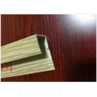 China Black Anodized T3 - T8 6063 Aluminium Extrusion Channel Profiles on sale