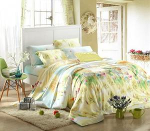 Quality Queen Size / Full Size Home Bedding Comforter Sets 100 Percent Cotton Fabric for sale