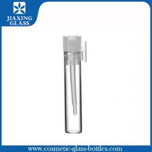 China Le cylindre 3ml dégagent la fiole en verre, petit pain tubulaire de parfum sur des bouteilles on sale