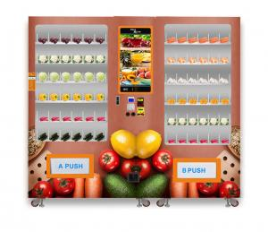 China Mini Supermarket Use Refrigerated Vending Machine 1280 * 830 * 1930MM on sale