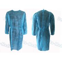 Medical Hospital Isolation Gowns , Patient Surgical Disposable Waterproof Gowns