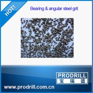 China G18 G25 G40 Bearing and Angular Steel Grit for granite cutting on sale