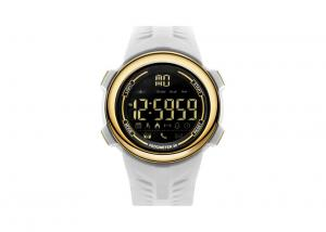 China Smart Outdoor Men Plastic Sports Watch 304 Stainless Steel With App Remind Function on sale