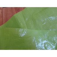 China Tela tejida HDPE con prenda impermeable laminada on sale