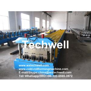 China Automatic Floor Deck Rollforming Machine for Making Steel Structure Floor Decking Sheets on sale