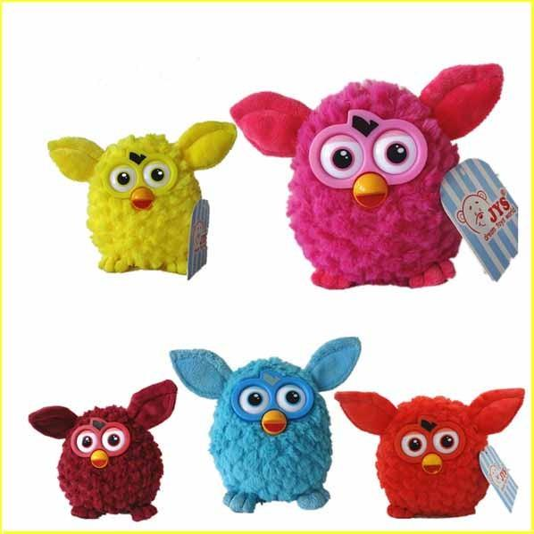 Furby Stuffed Animal Cartoon Plush Toys With Plastic Eye For