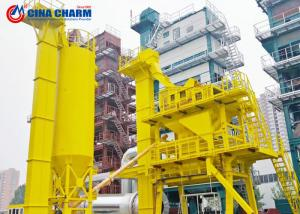 China 40 - 320th Asphalt Mixing Plant 4 Cold Aggregate 45S Mixing Cycle Heavy / Light Oil on sale