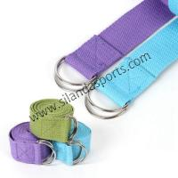 New Multi-Colors Women Yoga Stretch Strap D-Ring Belt Fitness Exercise Gym Rope Figure Waist Leg Resistance Fitness Band