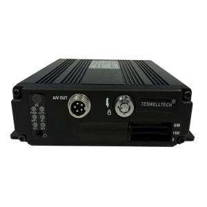 China 4 Channel H.264 256GB SD Card Mini Mobile Vehicle DVR with PTZ support on sale
