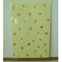 Table Top Decorative Glass Panels , Silkscreen Printing Glass For Refrigerator Panel