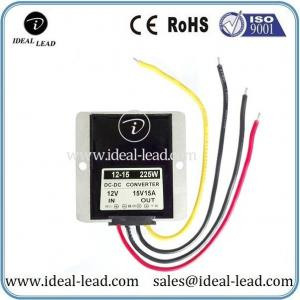 China 15A 12v to 15v dc dc power converter for Solar Panel on sale
