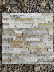 China 100% Natural Slate Culture Stone Wall Cladding Panel For Inside And Outside Wall Decoration on sale