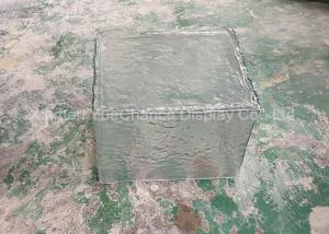 China Square Shape Attractive Resin Ice Block , Shop Window Decoration Handmade Type on sale