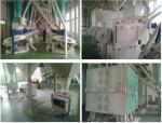 Maize / Corn / Wheat Flour Grinding Production Line , Grain Flour Milling Machine