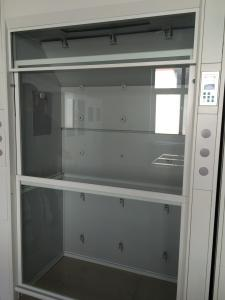 China CE certificated Floor Mounted Lab Fume Hood Laboratory Furniture 5 feet wide All Steel Walk In Fume Hood on sale