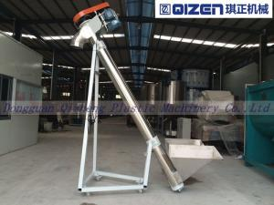 China Granules / Pellets Screw Auger Conveyor , Hopper Screw Conveyor 3 Phase Voltage on sale