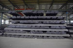 China ASTM Black Carbon Steel Pipe , Carbon Steel Seamless Pipe For Construction on sale