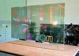 China Customized Size OLED Clear Display / Horizontal Transparent OLED Panel on sale