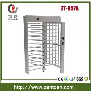 China shenzhen zento full height turnstile/revolving turnstile on sale