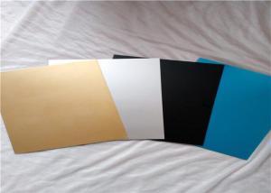 ASTM B209 Color Coated Aluminum Sheet / Colored Anodized Aluminum ...