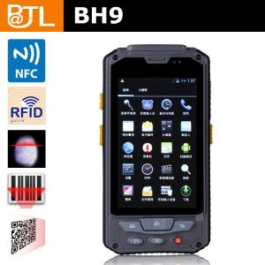 China 4.4inch 3G Wireless smart handheld PDA Mobile RFID Reader  BH9 with Fingerprint Scanner on sale