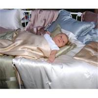 Silk bedding for baby